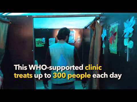WHO: Syrian Arab Republic - Supporting Health in Camps