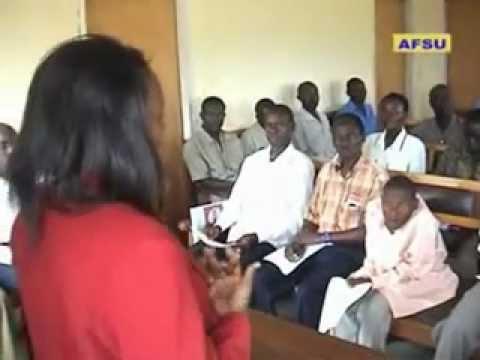 AFSU work within Local community in Uganda..