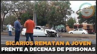 Frente a decenas de personas rematan a joven en Culiacán #Sinaloa thumbnail