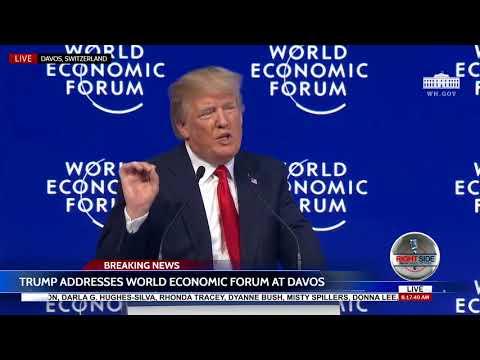 🚨FULL SPEECH: President Donald Trump  Davos Speech  1/26/18
