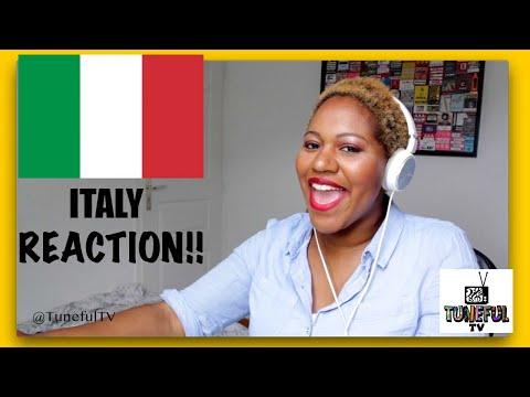 Eurovision 2021 - ITALY Reaction (Tuneful TV)