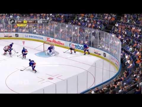 NHL 13 Gameplay: Philadelphia Flyers vs New York Islanders (HD)