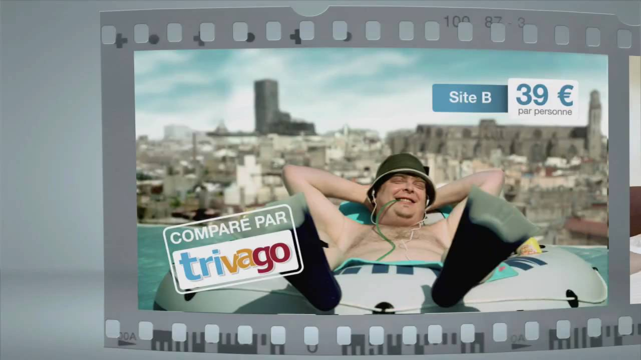 Publicit comparateur de prix d 39 h tels youtube for Trivago comparateur hotel