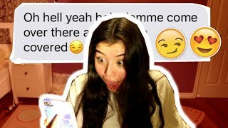 SONG LYRIC PRANK ON CRUSH: INTO YOU ARIANA GRANDE (GONE RIGHT!)