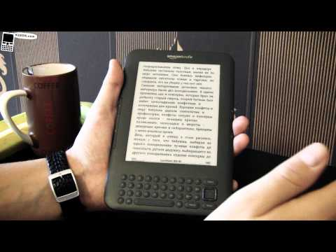 Видеообзор Amazon Kindle 3