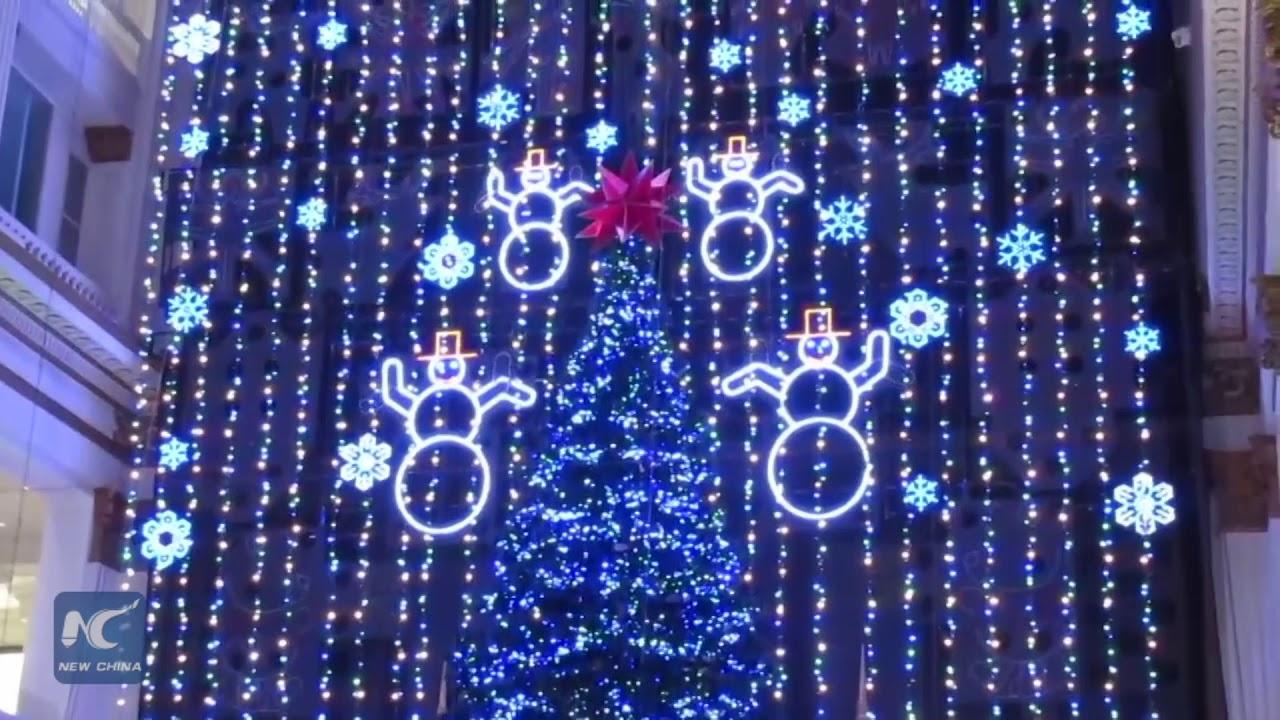 christmas light show at macys in philadelphia pennsylvania