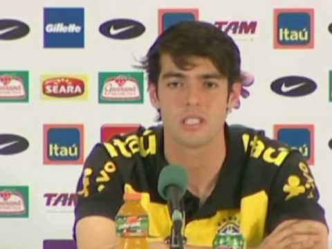 FIFA World Cup 2010 - Kaka interview on his red card, his performances so far and Brazil