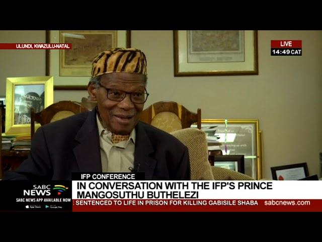 In Conversation With IFP Leader Prince Mangosuthu Buthelezi