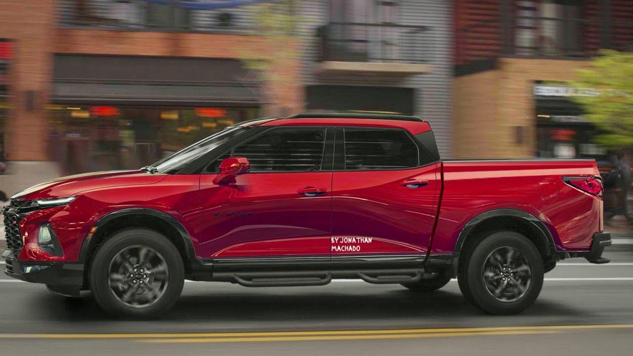 render all-new 2020 chevrolet s10 colorado   gm blazer pickup