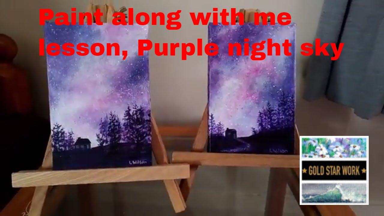 Paint the Sky Purple