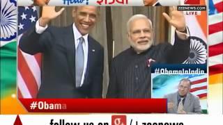 US President Obama, PM Modi hold bilateral talks at Hyderabad House