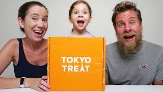 Tokyo Treat Box Unboxing & Taste Test