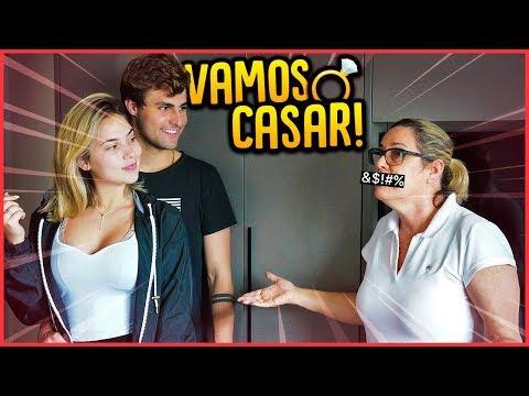 VAMOS NOS CASAR!! - TROLLANDO MINHA MÃE [ REZENDE EVIL ]