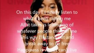 Keke palmer stand out lyrics