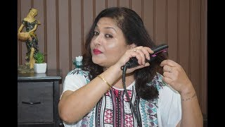 Review on Philips Selfie hair straightener | Cheap and best !