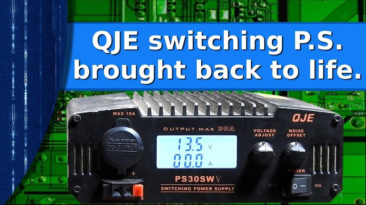 Ham Radio - QJE switching power supply repair