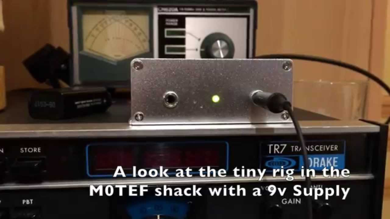 QRP Frog Sounds Transceiver