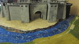 The Castle Moat -Storm The Castle Diorama Part 7