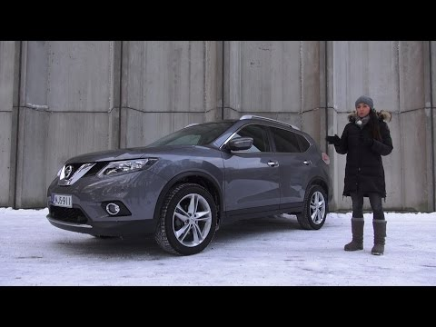 Koeajossa uusi Nissan X-Trail 2015
