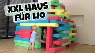 Wir bauen LIO ein XXL Haus 👶🏼 | Bibi