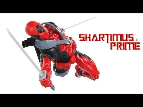 Marvel Legends Deadpool Sasquatch BAF 2018 Wave 1 Hasbro Comic Action Figure Toy Review