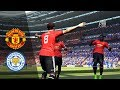 Manchester United vs Leicester City   Full match & Gameplay PC   PES 2017