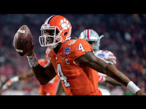 Deshaun Watson Of Clemson Called Dual Threat NFL Draft Quarterback, Meaning Black #NFLCombine