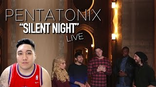 Pentatonix - Silent Night (Live) REACTION!!!