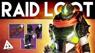 Destiny Hard Mode Raid Loot | King's Fall Raid