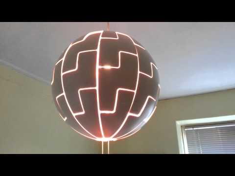 philips hue light in ikea ps 2014 death star funnydog tv. Black Bedroom Furniture Sets. Home Design Ideas