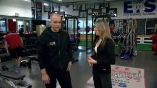 In The Gym At Elite Training Systems - The Home Team On Rogerstv Durham