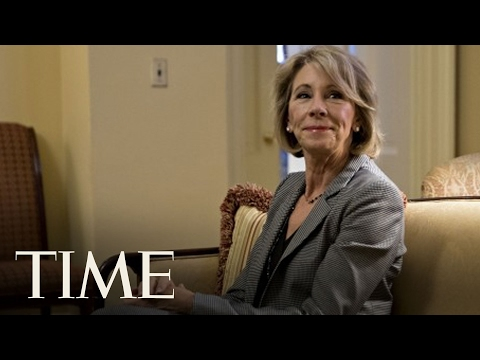Senate Committee Approves Nomination Of Betsy DeVos As Education Secretary | TIME