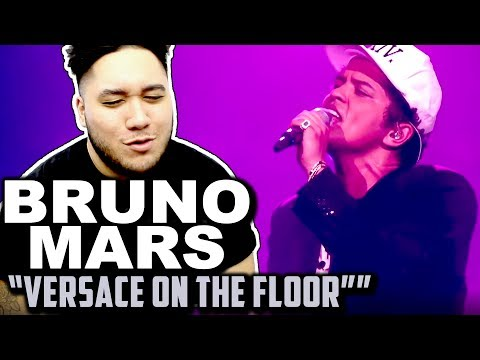 Bruno Mars - Versace On The Floor [Billboard Music Awards 2017] REACTION!!!