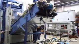 Herbold Guillotine Cutter HGS for bales of film