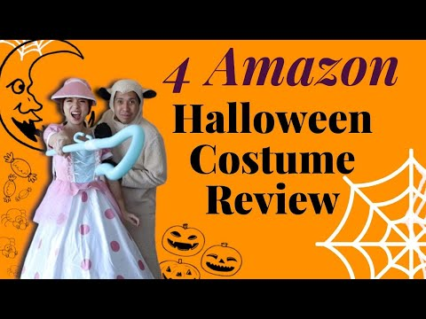 4 Halloween Costumes Review 2019 - Amazon Purchase Review - Aladdin, Toy Story, Stranger Things