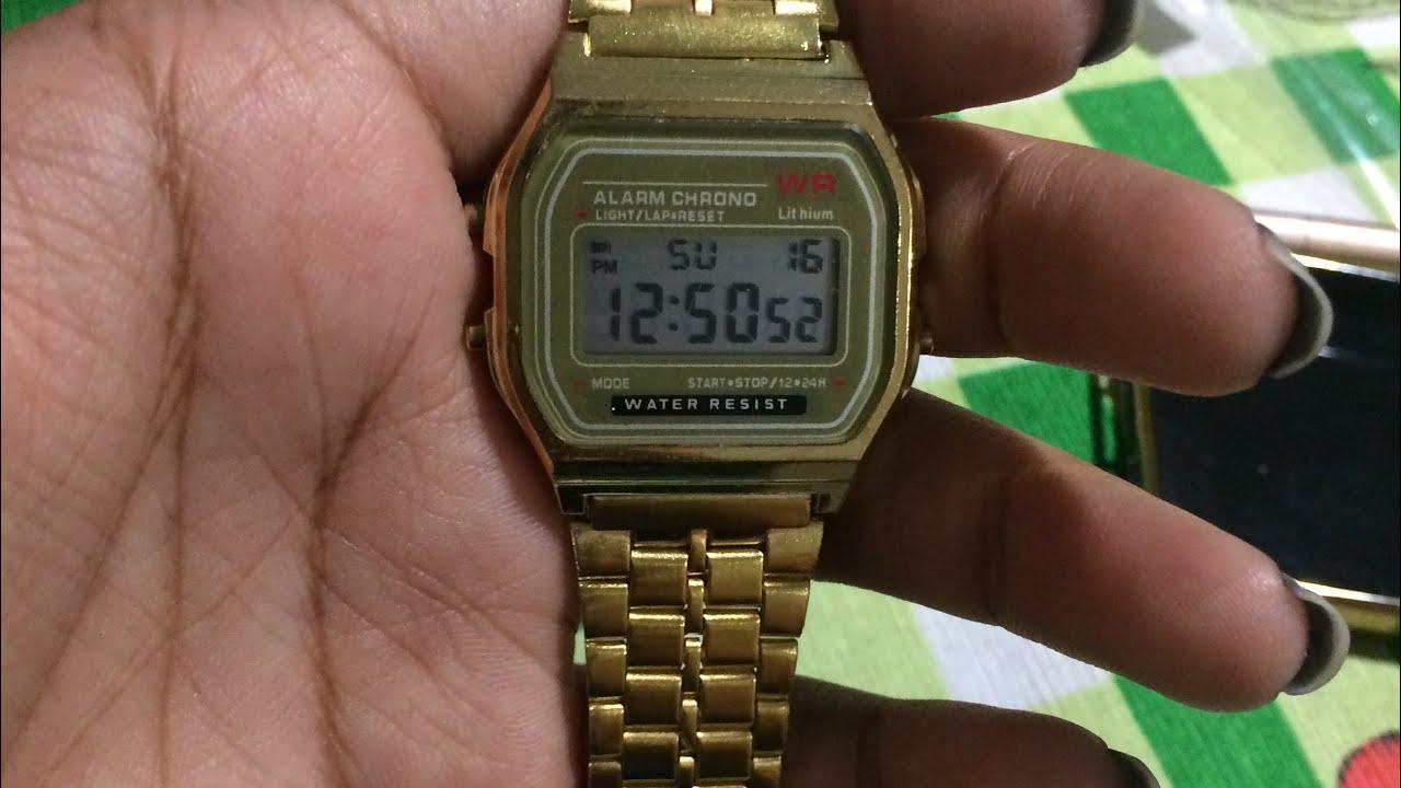 6c493141c Réplica do relógio Casio Vintage (Aliexpress) - YouTube