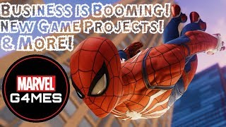 HUGE Marvel Games News!!! NEW Game Project & Logo, Business is Booming, & More!!!
