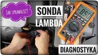 SONDA LAMBDA diagnostyka pomiar miernikiem - Zrób To Sam