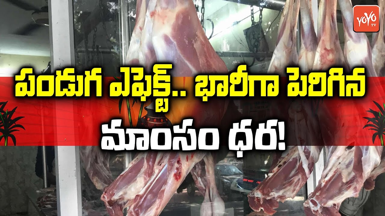 Chicken And Mutton Prices Hiked This Festive Season | Sankranthi 2019 |  YOYO TV Channel