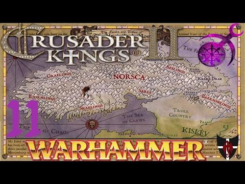 Crusader Kings II / Warhammer / Slaaneshi / 11 / Royal