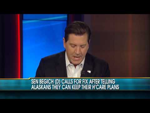 Mead Treadwell talks Obamacare on Fox News