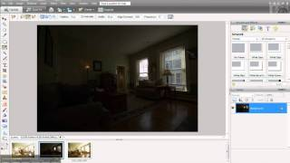 Multiple Flash Exposure Blending For Interior Photography