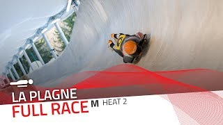 La Plagne | BMW IBSF World Cup 2019/2020 - Men's Skeleton Heat 2 | IBSF Official
