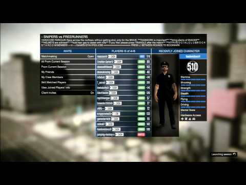 gta v online playing with a modder police chills