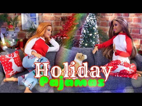 DIY - How to Make: Doll Holiday Pajamas | Sewing Craft | Download Free Pattern