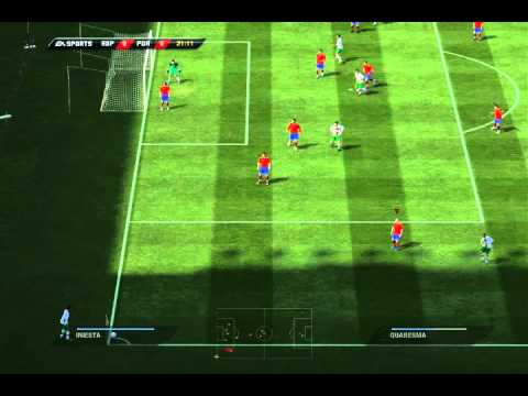 FIFA 11 Gameplay (PC) - Spain vs Portugal [1st Half]