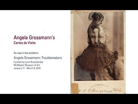 Angela Grossmanns Cartes De Visite
