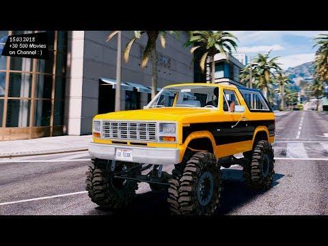 1980 Ford Bronco MudSlinger Grand Theft Auto V MGVA Modification