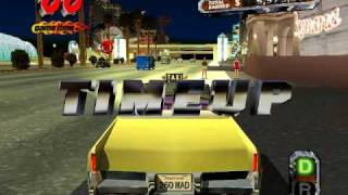 PC Crazy Taxi 3 Glitter Oasis (Las Vegas) Gameplay HQ