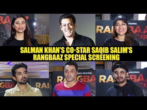 Salman Khan's Co-Star Saqib Salim's Rangbaaz - Zee5 Original Series Special Screening Sonakshi Sinha Mp3